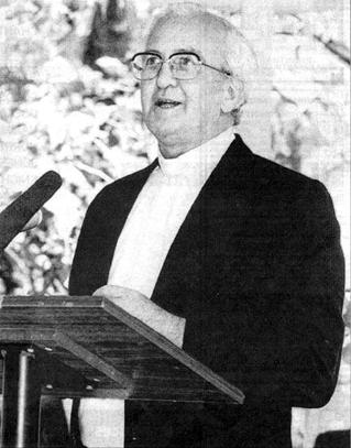 Fr Tom Boland, First President of the Brisbane Catholic Historical Society